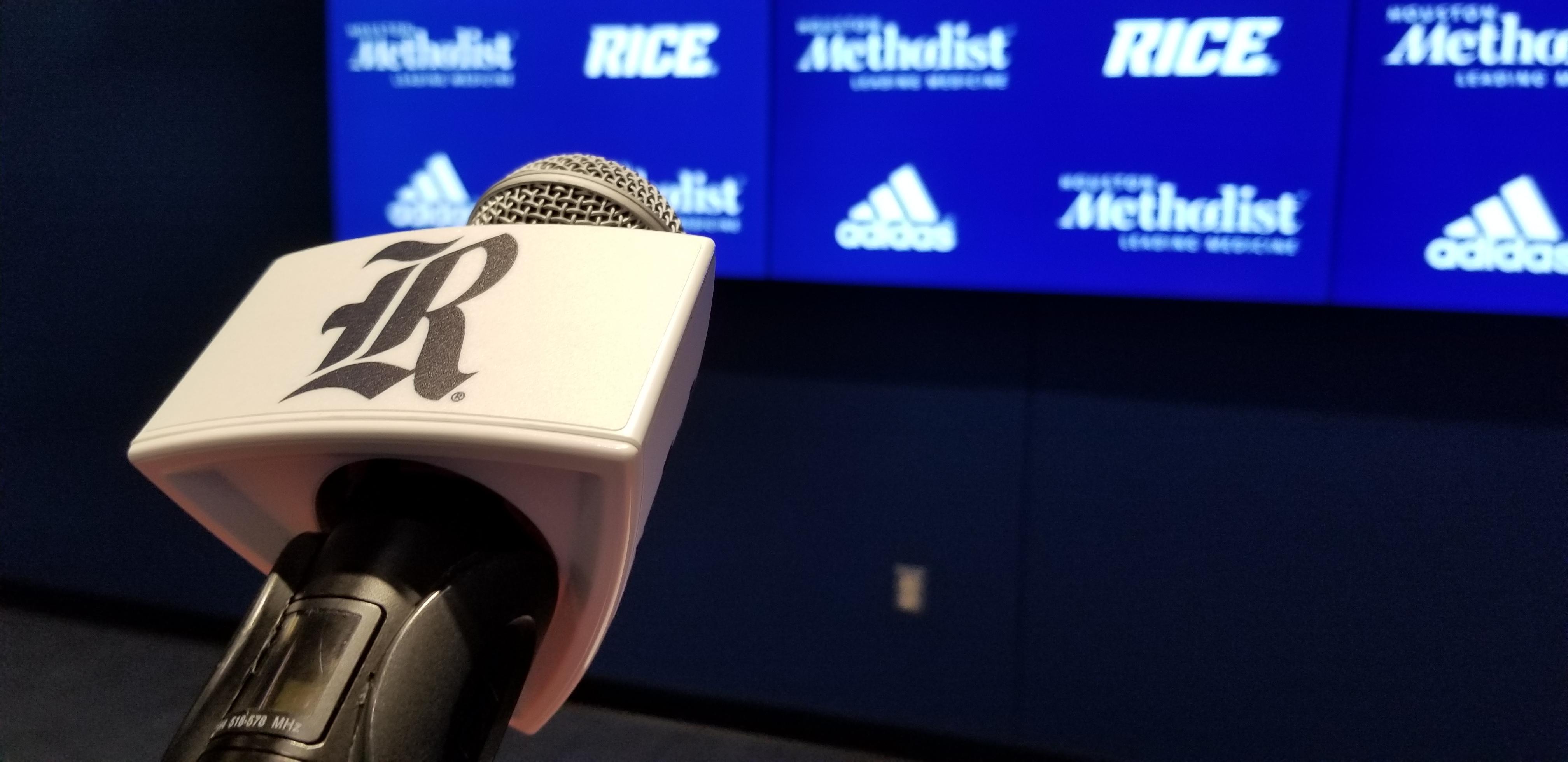 Rice Football, press conference, press
