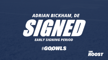 Linebacker Adrian Bickham commits to Owls