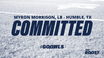 Linebacker Myron Morrison commits to Owls