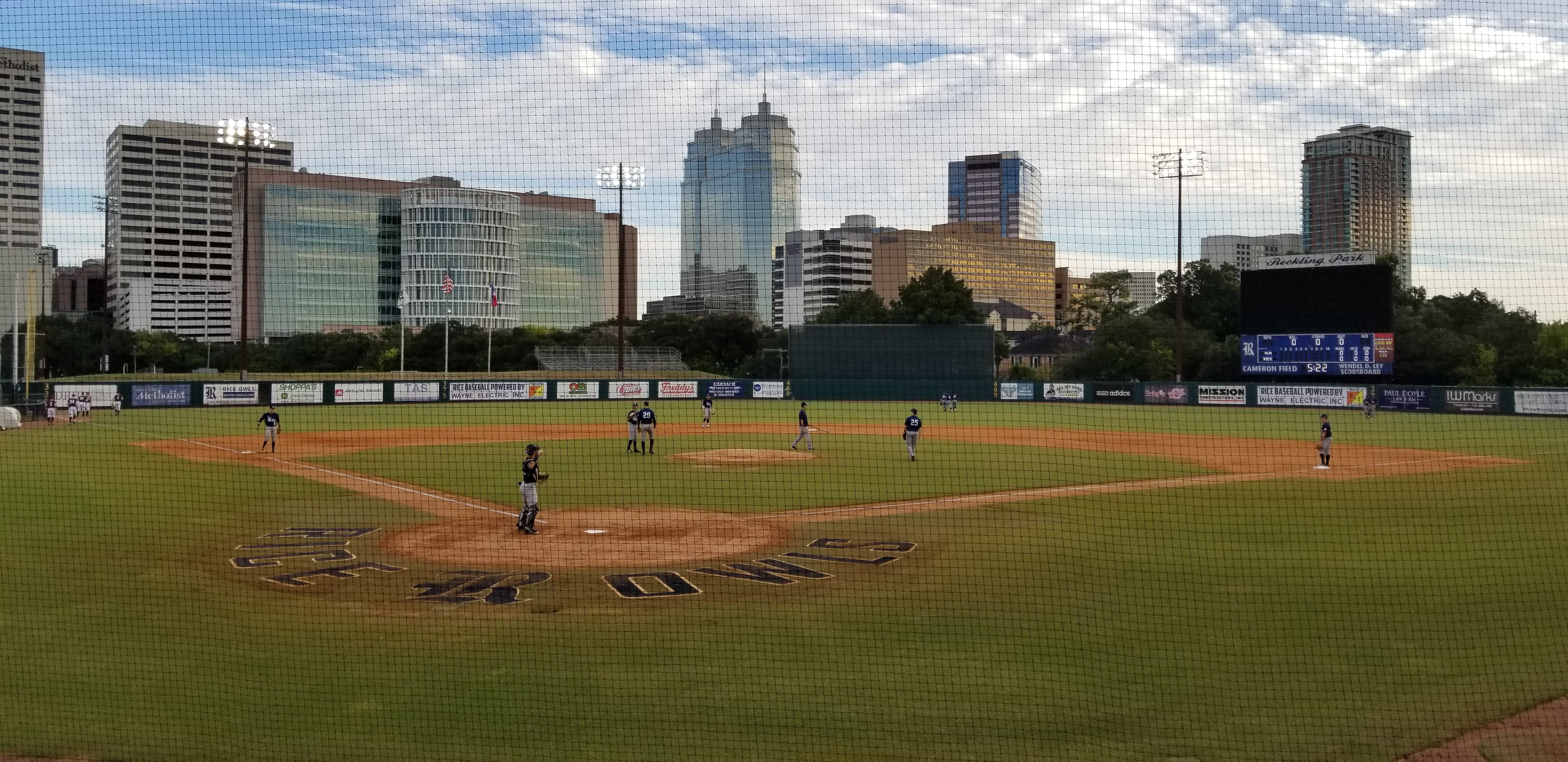 Rice baseball, Reckling Park