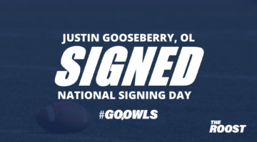 Offensive lineman Justin Gooseberry commits to Owls