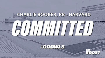 Football: Former Harvard Running back Charlie Booker to transfer to Owls