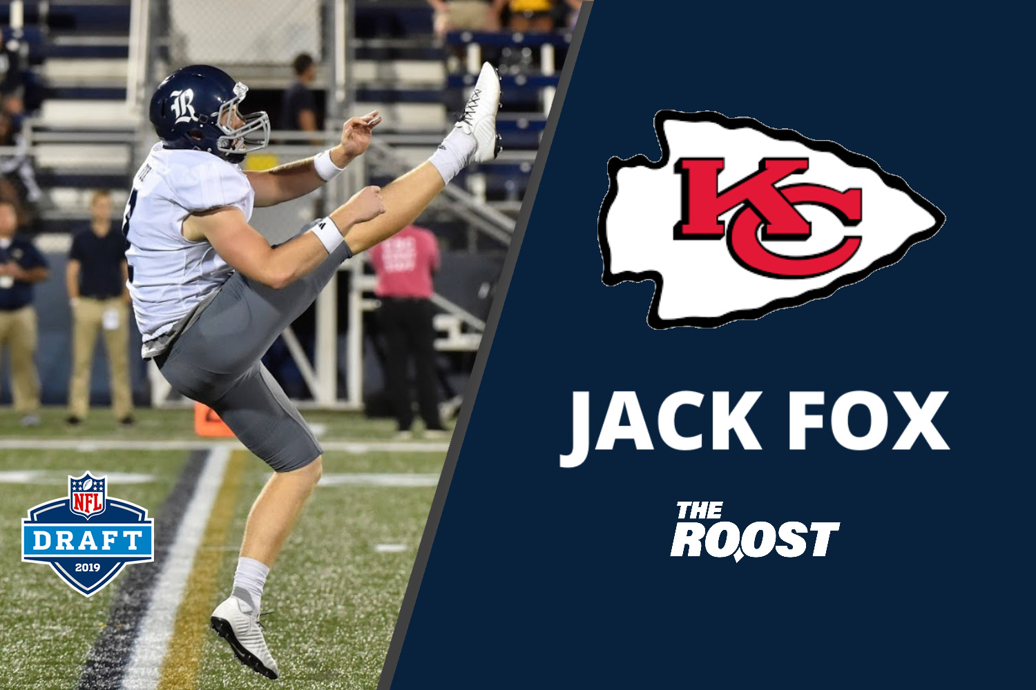 Jack Fox, NFL Draft, Rice Football