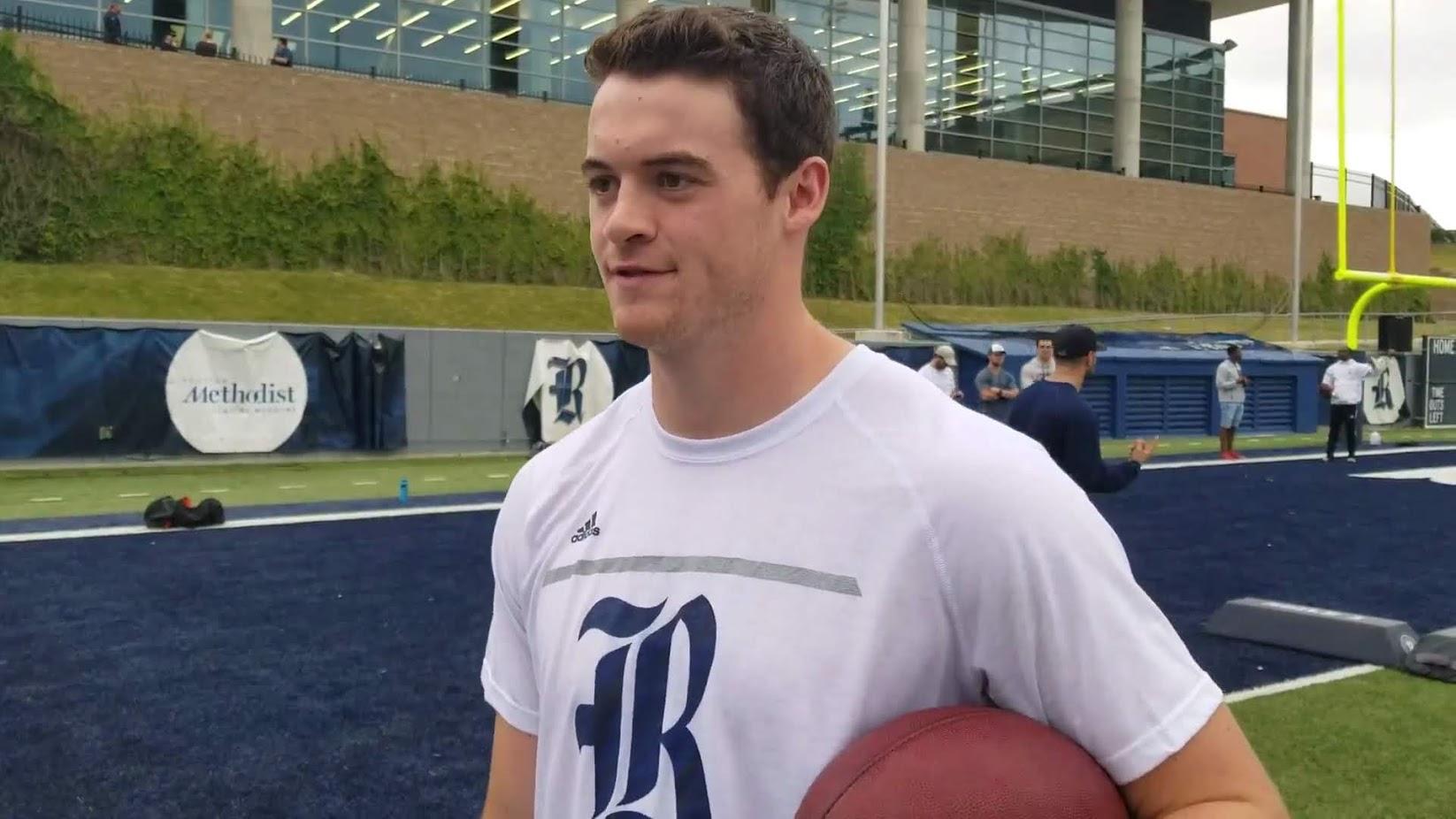 Jack Fox, Rice Football