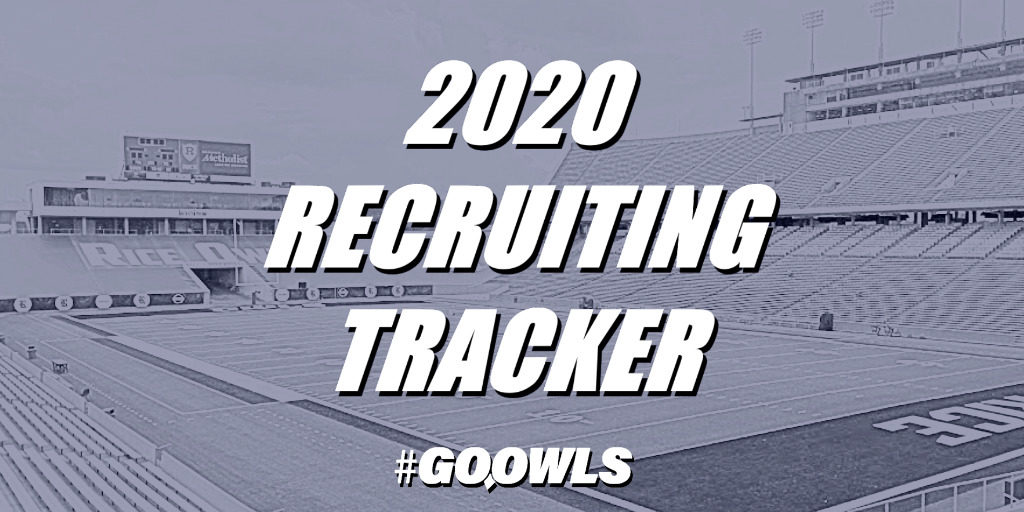 Rice Football, Rice Football Recruiting, Tracker