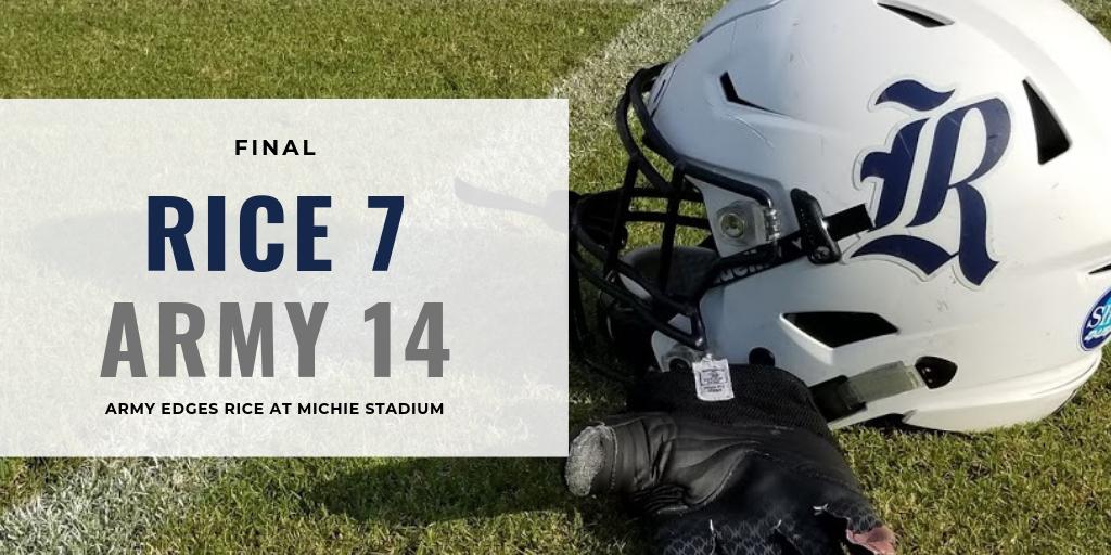 Rice Football vs Army