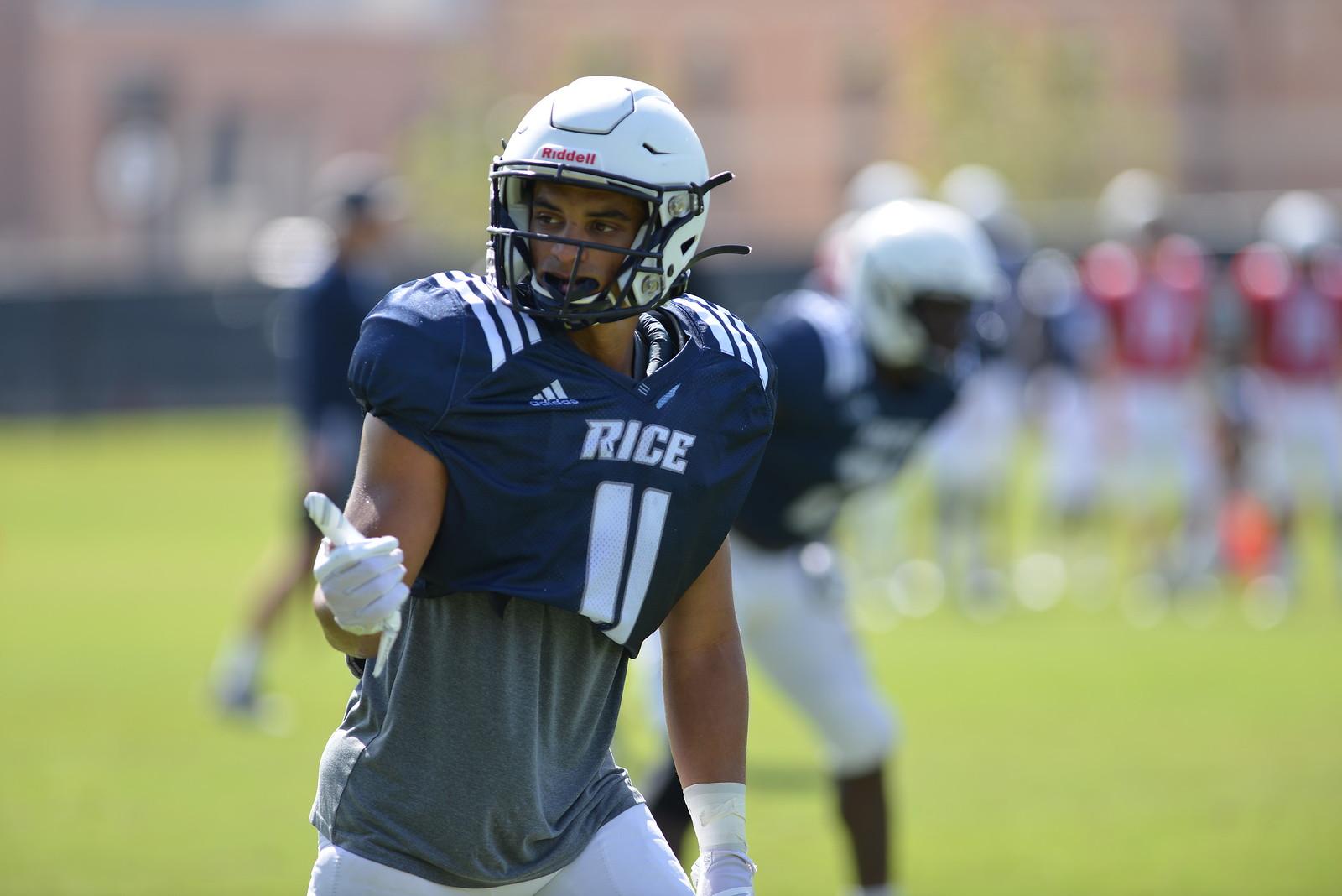 Jake Bailey, Rice Football