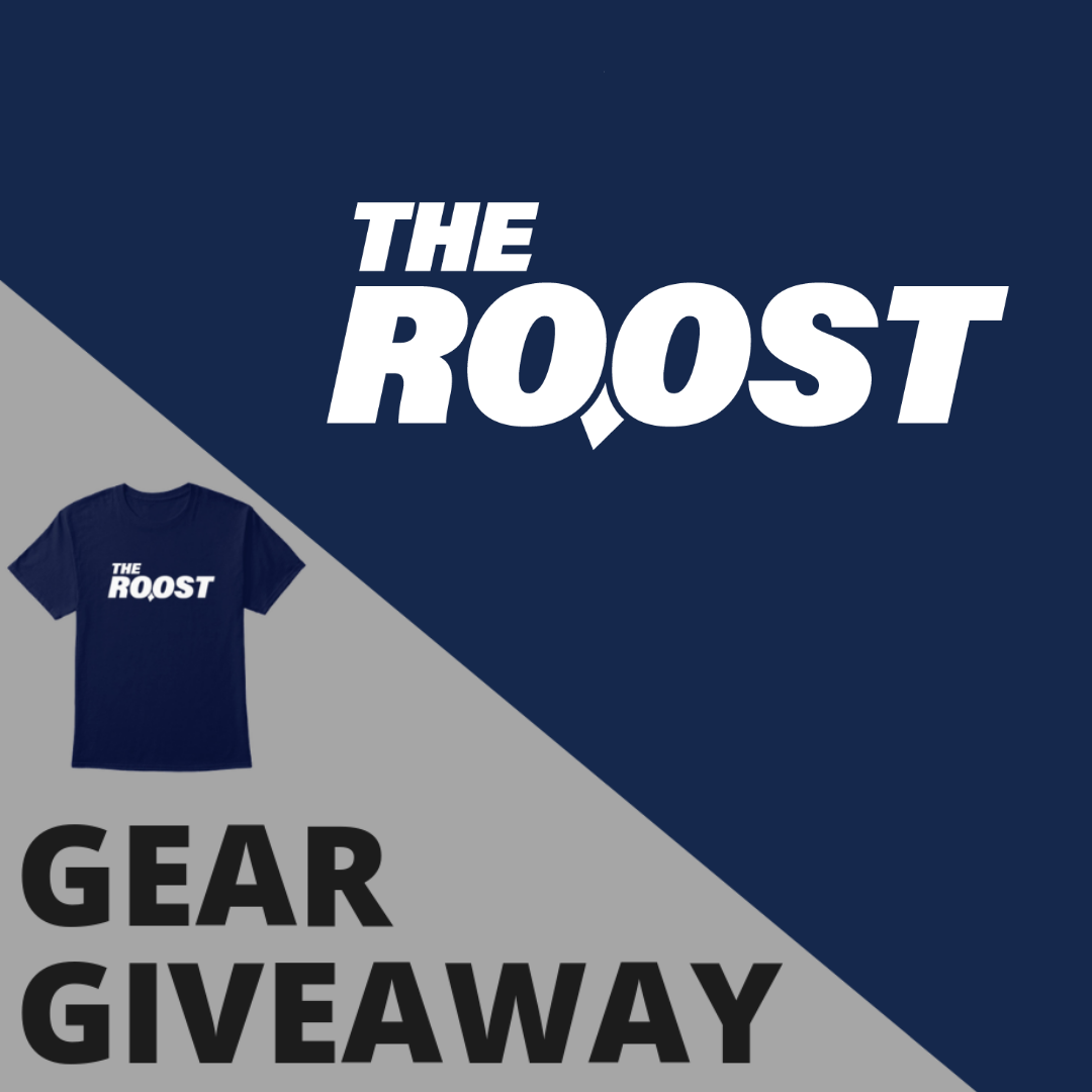 Win gear from The Roost