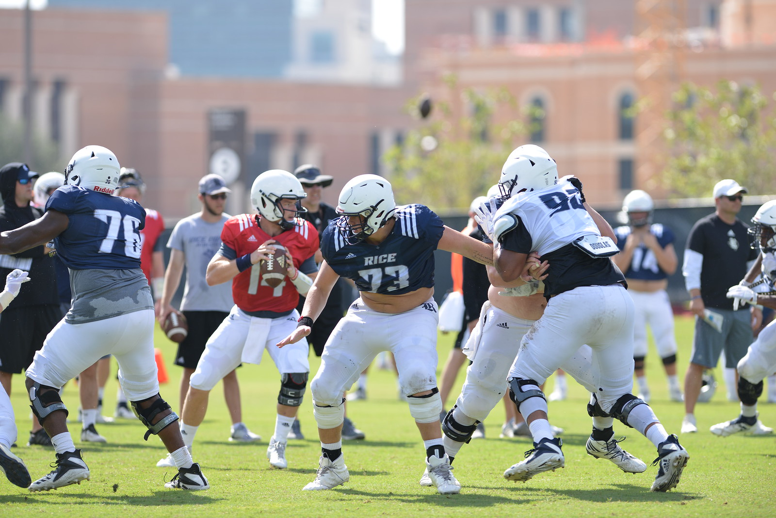 Tom Stewart, Rice Football, offensive line