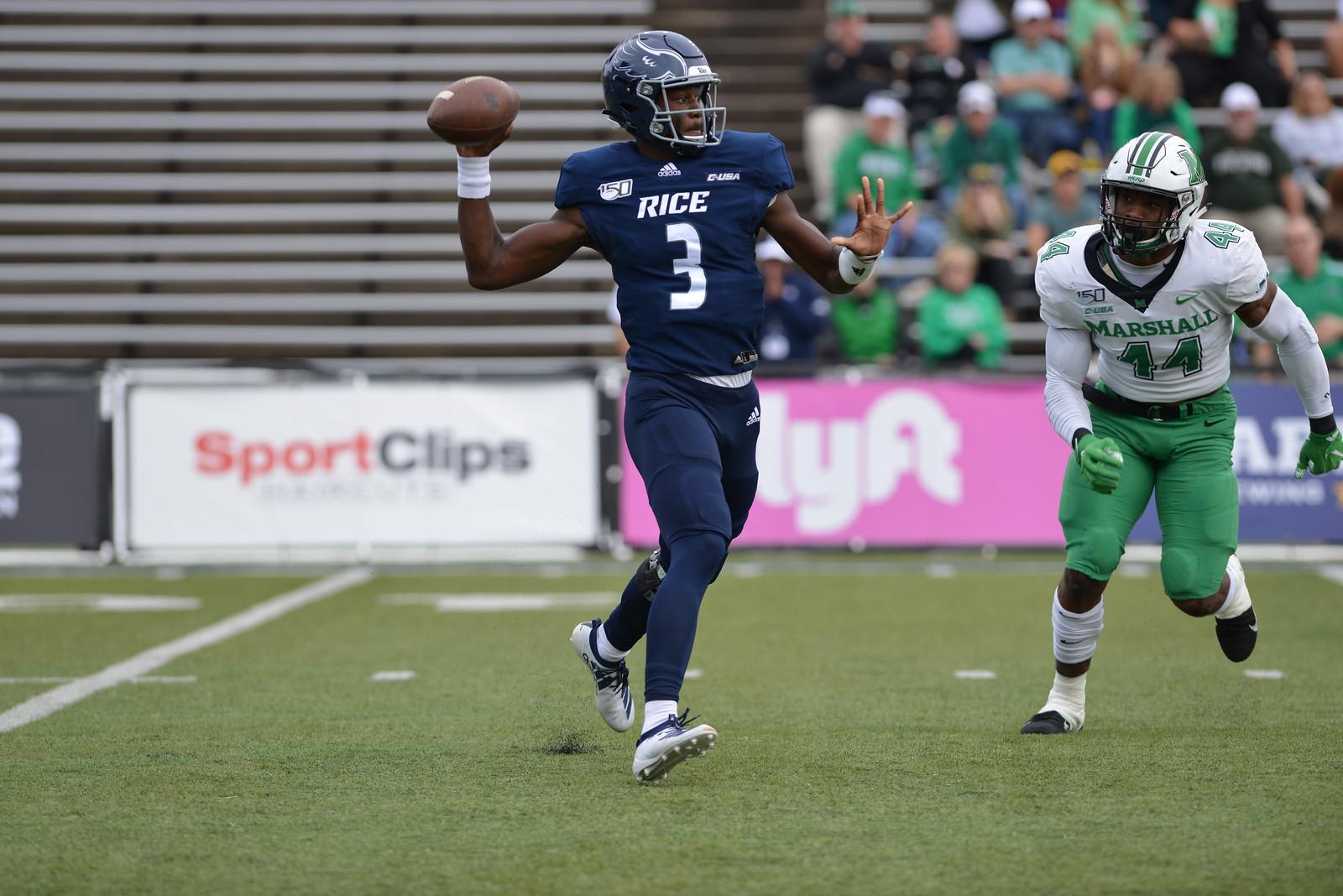 JoVoni Johnson, Rice Football