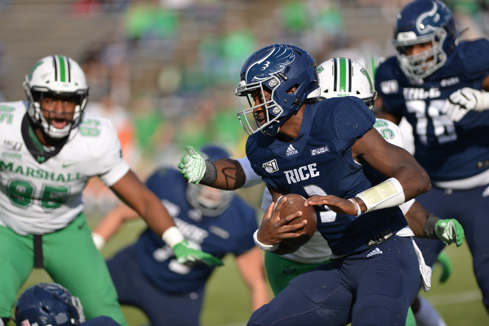 Jovoni Johnson, Rice football