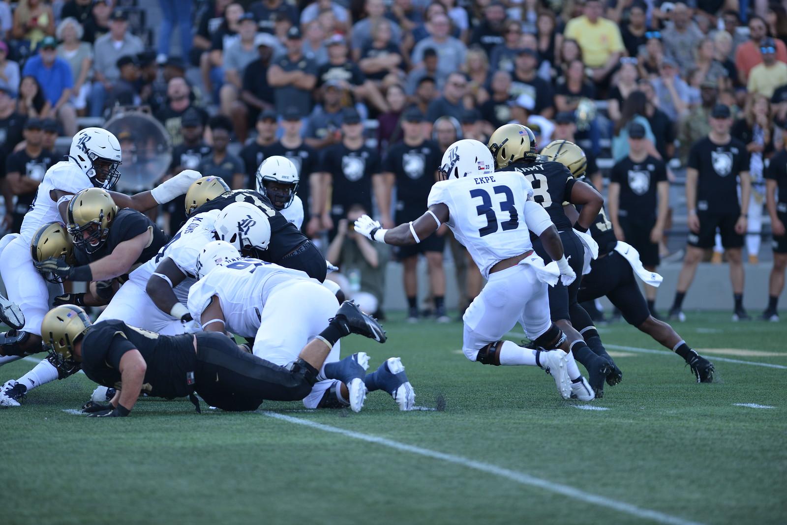 Rice Football, Anthony Ekpe