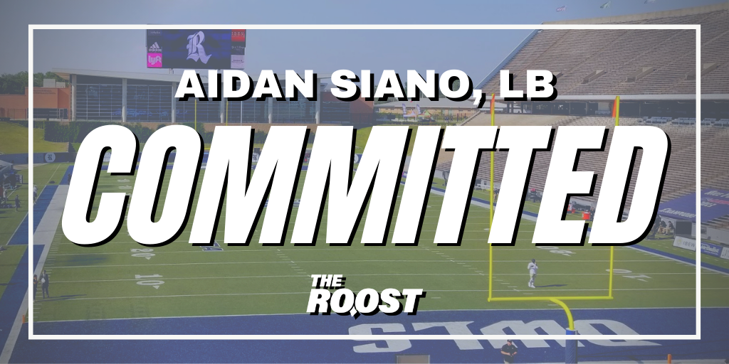Rice Football recruiting, Rice football, Aidan Siano
