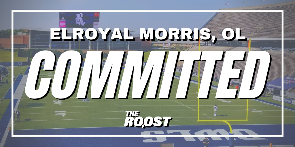 Rice Football Recruiting, Elroyal Morris