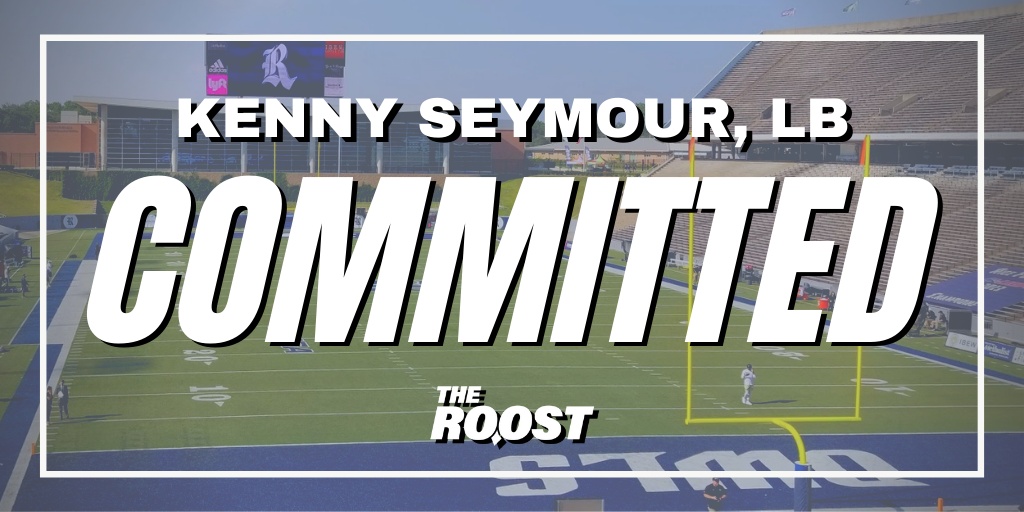 Rice football, Rice football recruiting, Kenny Seymour