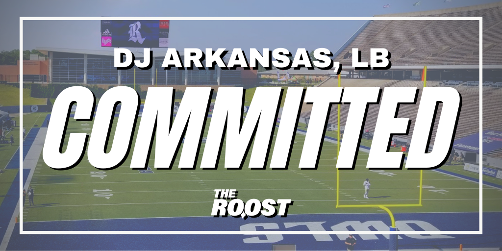 DJ Arkansas, Rice Football, Rice Football Recruiting