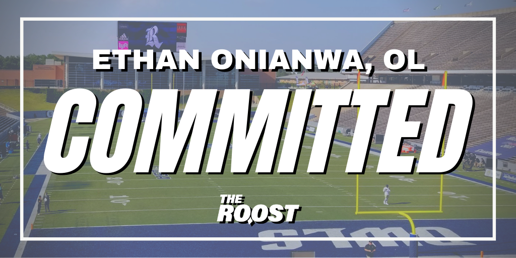Ethan Onianwa, Rice Football, Rice Football Recruiting