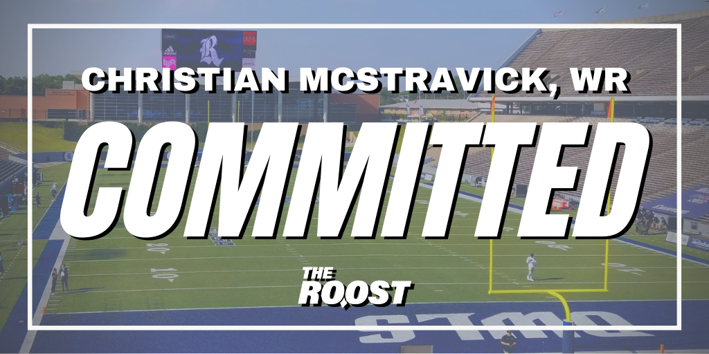 Rice Football, Rice Football Recruiting, Christian McStravick
