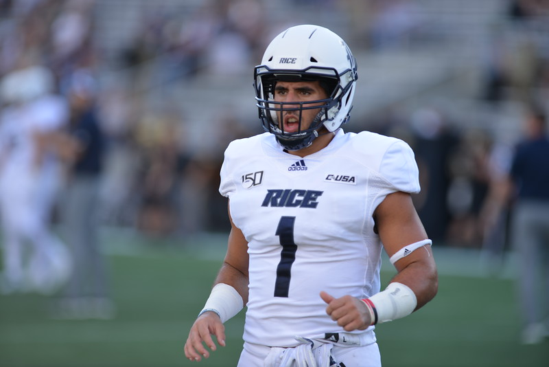 Rice Football, Antonio Montero