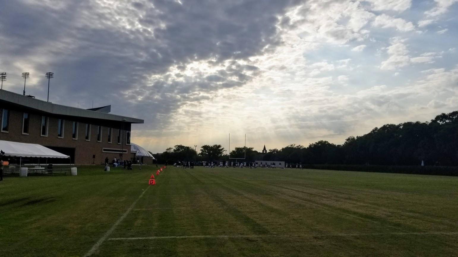 Rice Football, practice
