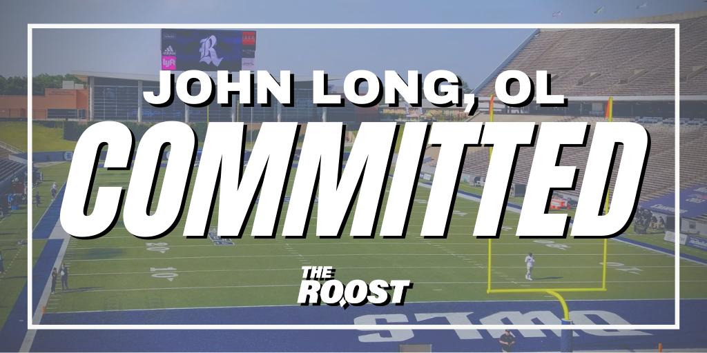 John Long, Rice Football, Rice Football Recruiting