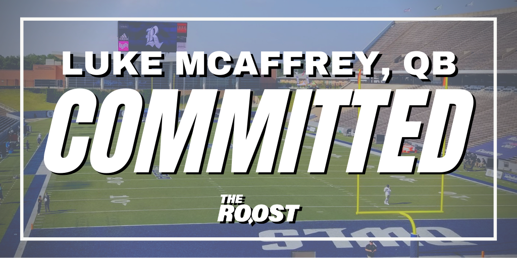 Rice Football, Rice Football Recruiting, Luke McCaffrey
