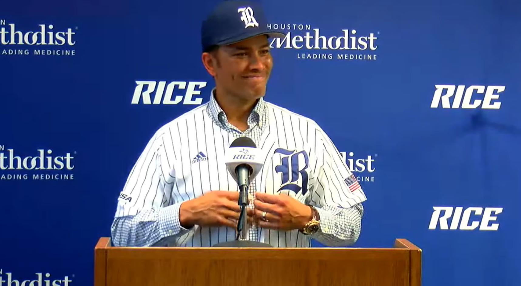 Rice Baseball, Jose Cruz Jr.