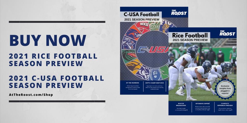 Rice Football, Season Preview