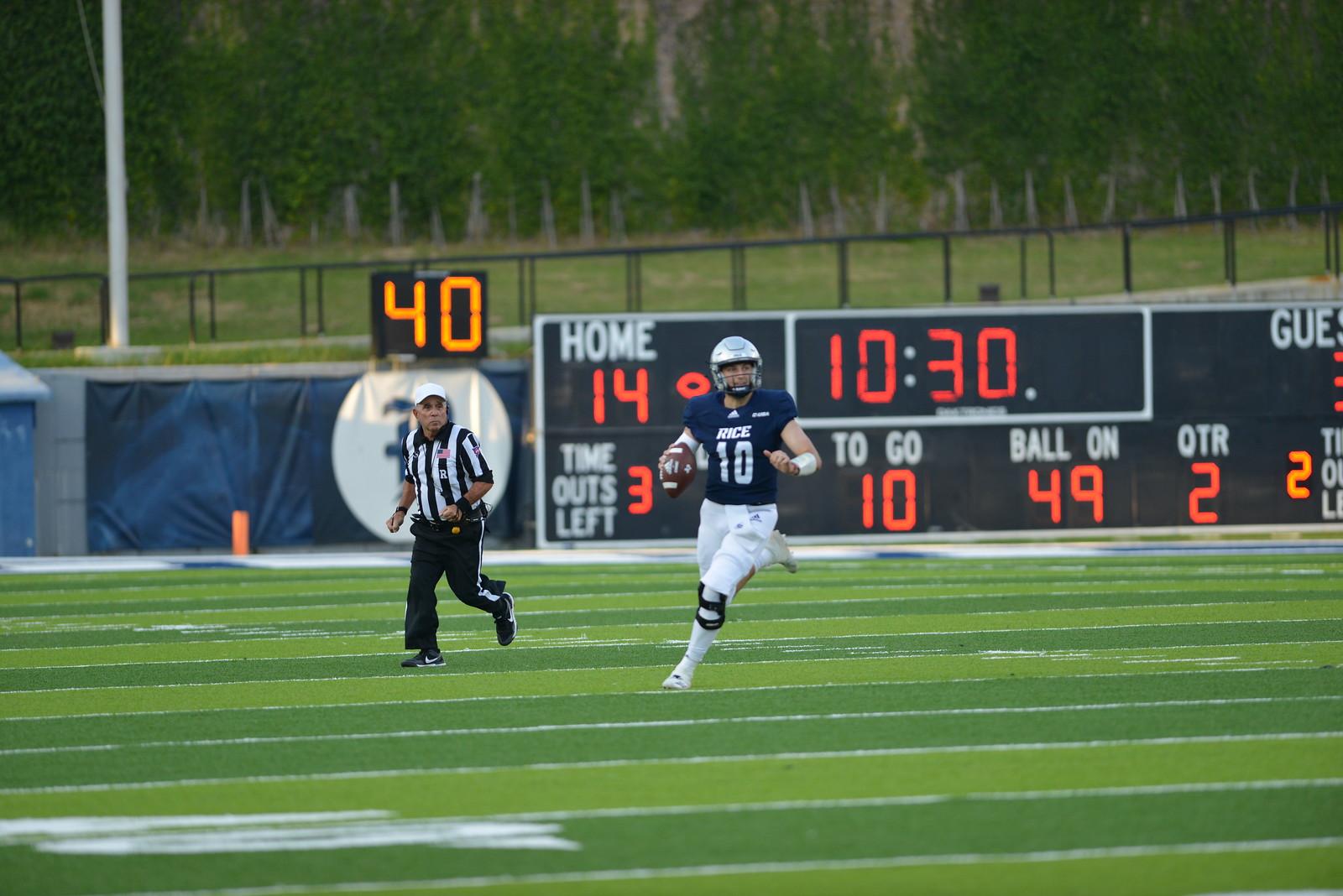 Rice Football, Jake Constantine